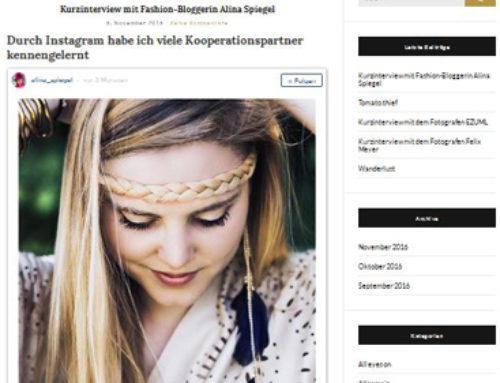 Mologue – Kurzinterview mit Alina Spiegel