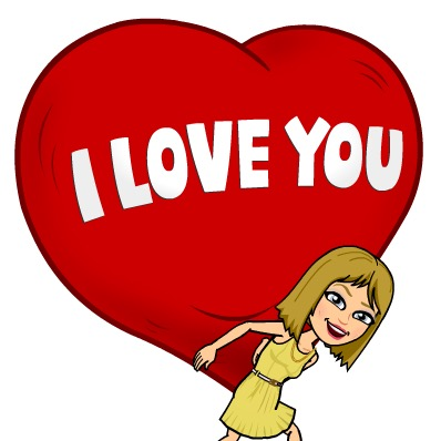 Bitmoij I love you, Heart