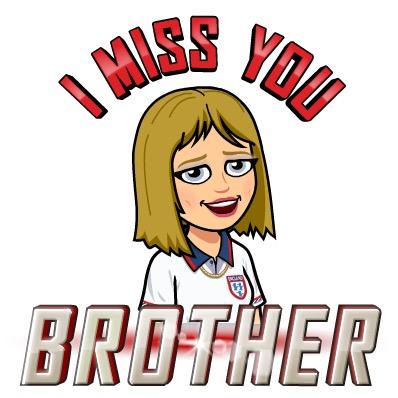 Bitmoji I miss you brother