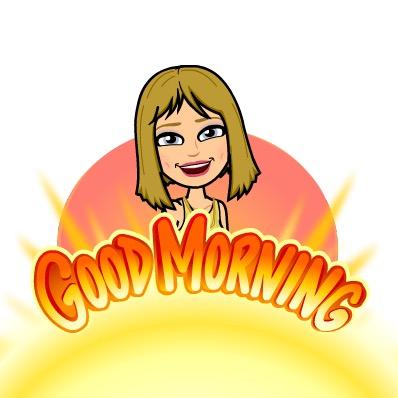 Bitmoji Good Morning