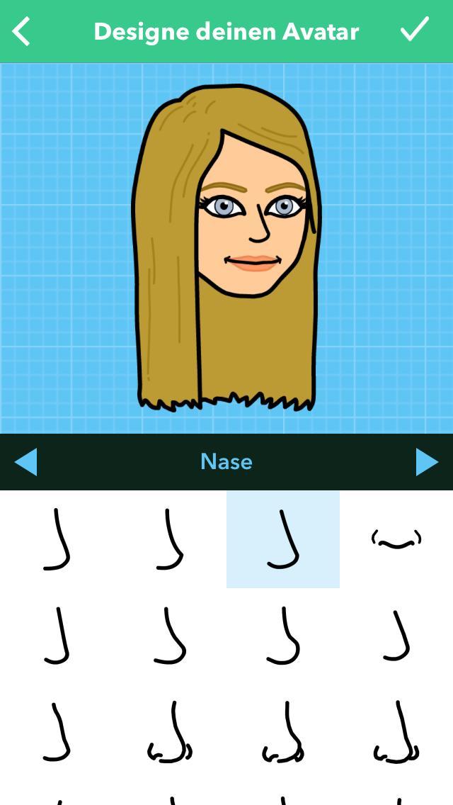 Bitmoji Creation nose
