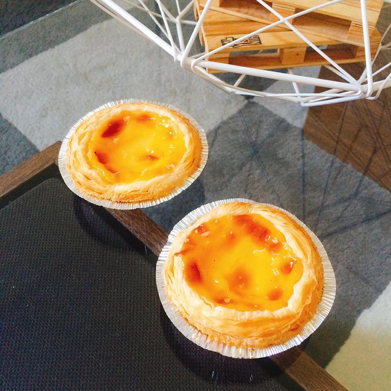Vanilla pastries