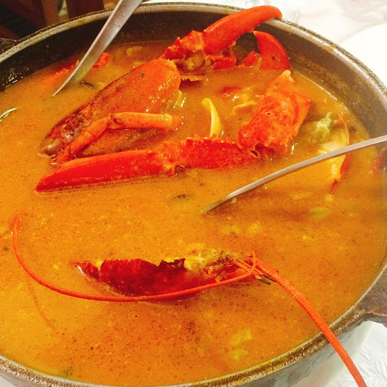 Paella Lobster Soup