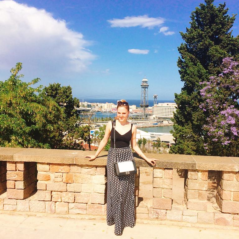 Climbing the Montjuïc