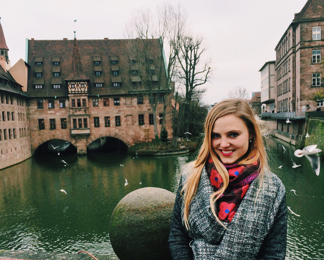 Alina Spiegel on tour