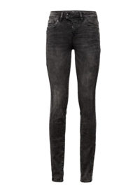 Alexa Slim Jeans, Frauen, grey denim