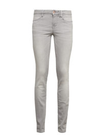 Alexa slim Jeans, Frauen, bleached light grey denim