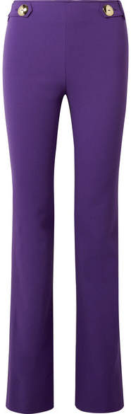 Emilio Pucci - Wool-blend Slim-leg Pants - Purple