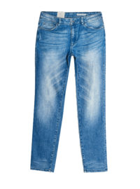 Esprit Cropped Boyfriend-Jeans mit Stretch für Damen Blue