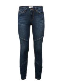 Jona Extra Skinny Jeans, Frauen, dark stone wash denim