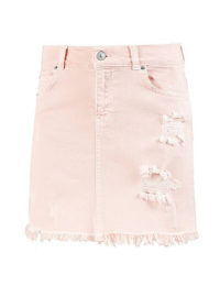 LTB Jeansrock Damen in ashy pink wash