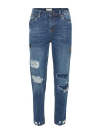 Liv Boyfriend, Frauen, mid stone wash denim