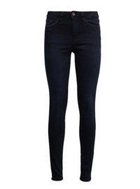 Nela Black Jeans, Frauen, mid stone blue black denim