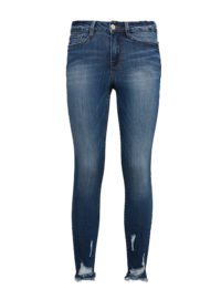 Nela Jeans, Frauen, mid stone wash denim