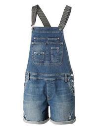 Pepe Jeans Latzhose Damen in blau