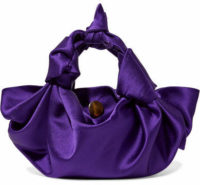 The Row - Ascot Small Satin Tote - Purple