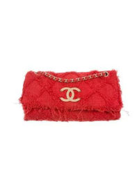 Chanel Tweed Nature Flap Bag