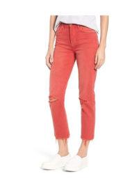Hudson Jeans Zoeey Crop Straight Leg Jeans