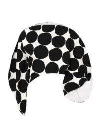Junya Watanabe - Marimekko Asymmetric Polka-dot Cotton-canvas Top - Black