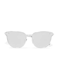 Le Specs - Pharaoh Cat-eye Silver-plated Mirrored Sunglasses