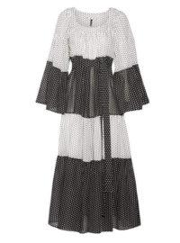 Lisa Marie Fernandez - Tiered Polka-dot Cotton-voile Maxi Dress - White