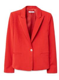 Mango MANGO Peak lapel suit blazer