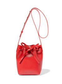 Mansur Gavriel - Mini Mini Textured-leather Bucket Bag