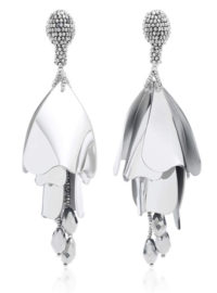 Oscar de la Renta Impatiens Large Drop Earrings