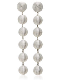 Rebecca de Ravenel M'O Exclusive Six Drop Silk Earrings