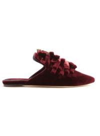 SANAYI 313 Drina velvet slipper shoes