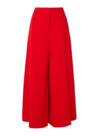 Stella McCartney - Darci Crepe Wide-leg Pants - Red