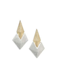 Stephanie Kantis Battle Two-Tone Earrings