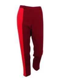 Tommy Hilfiger Women's Chiffon Color Block Cropped Pants